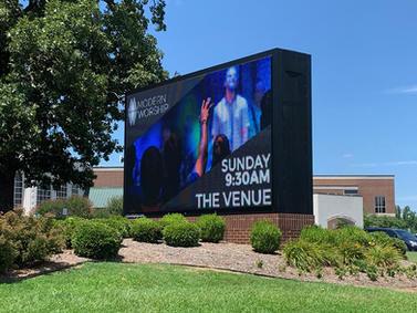 Geyer Springs Church LED Display