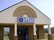 Pulaski Mortgage Cabinet Sign
