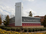 St Vincent  Monument Sign
