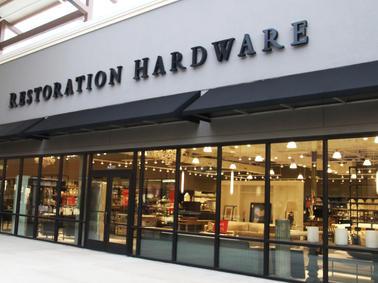 Restoration Hardware Channel Letters