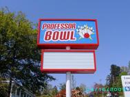 Professor Bowl Pole Sign
