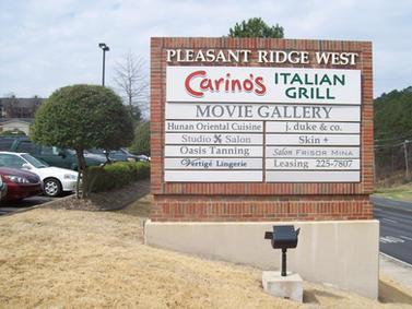 Pleasant Ridge West Monument Sign