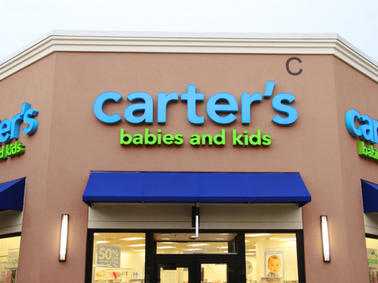 Carter's Babies and Kids Channel Letters