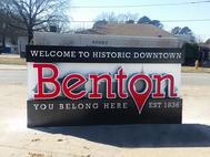 City of Benton Monument Sign