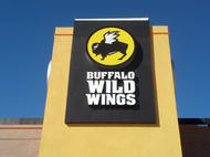 Buffalo Wild Wings Cabinet Sign