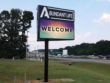 Abundant Life Church LED Display