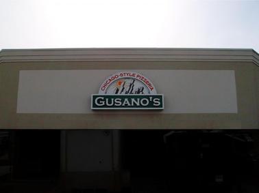 Gusano's Cabinet Sign
