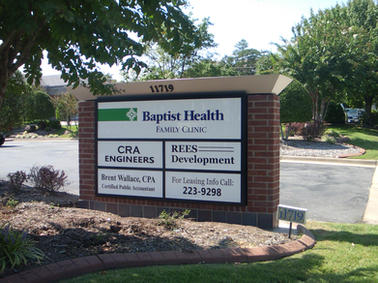Baptist Health Monument Sign