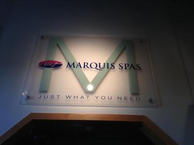 Marquis Spa Interior Sign