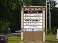 Harvest Plaza Monument Sign