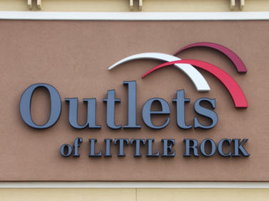 Outlets of Little Rock Channel Letters