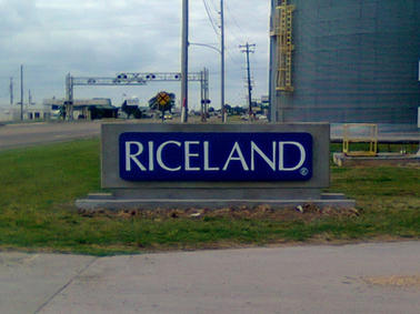 Riceland Monument Sign