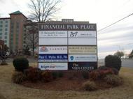 Financial Park Monument Sign