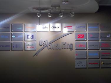 DSG Interior Signage