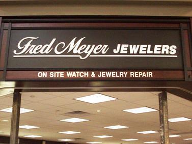 Fred Meyer Interior Signage