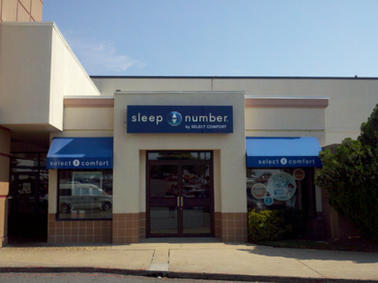 Sleep Number Cabinet Sign