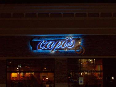Capis Night Wall Sign