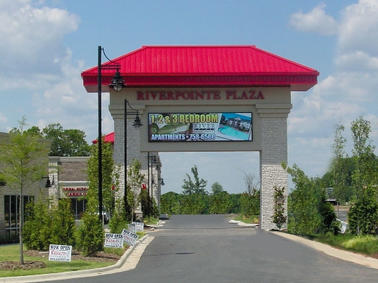 Riverpoint Plaza LED Display
