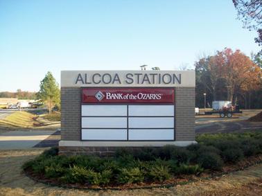Alcoa Station Monument Sign