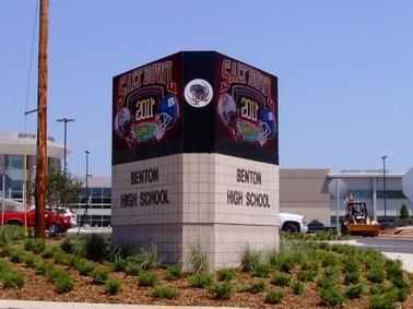 Benton High School LED Display