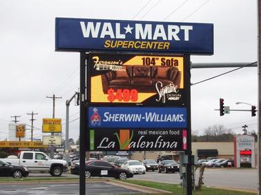 Walmart LED Display
