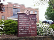 Schickel Office Monument Sign