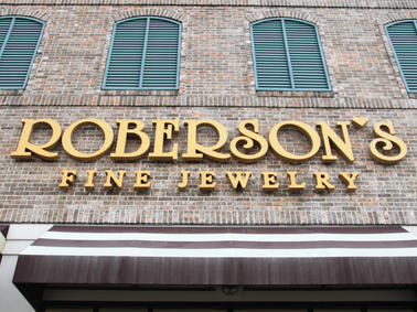 Roberson's Fine Jewelry Channel Letters