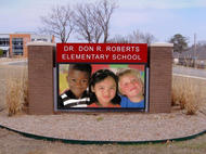 Dr. Don R. Roberts Elementary School LED Display
