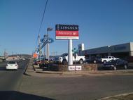 Automotive Dealer Pole Sign