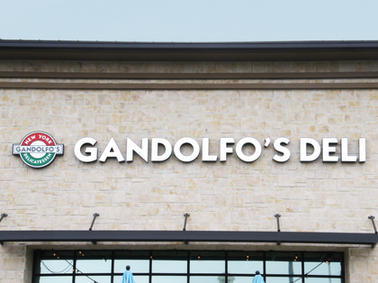 Gandolfo's Deli Channel Letters