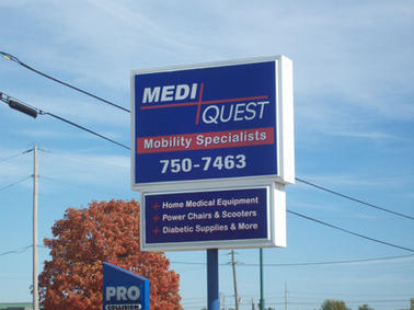 Mediquest Pole Sign