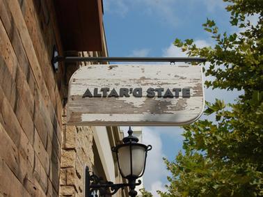 Altar'd State Custom Sign