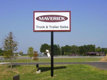 Maverick Pole Sign