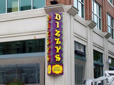 Dizzy's Custom Sign
