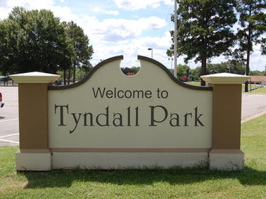 Tyndall Park Monument Sign
