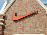 Nike Cabinet Sign
