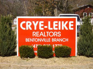 Crye-Leike Realtors Monument Sign