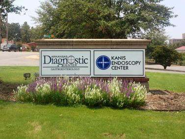 Arkansas Diagnostic Monument Sign