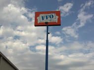 Furniture Factory Outlet Pole Sign