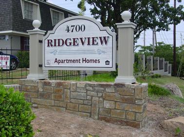 Ridgeview Monument Sign