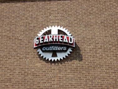 Gearhead Custom Sign