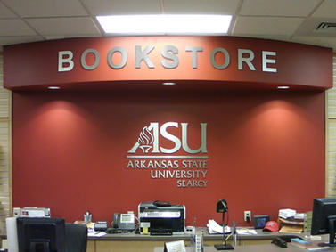 ASU Dimensional Interior Letters