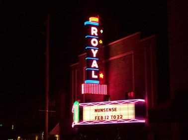 Royal Theatre Custom Sign