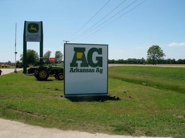 Arkansas Ag Monument Sign
