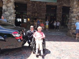 We do Elderly Transportation too!