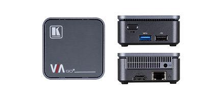 Kramer via go 2 wireless presenting device bežično deljenje Divison Visual Solutions DIVI AV integracija interaktivnost