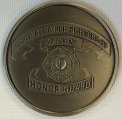 AFFI HG Challenge Coin Front