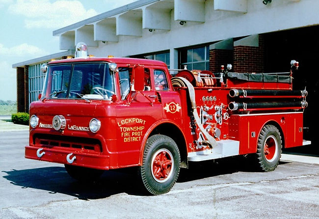 1966 Ford ALF 1000 GPM 750 WT Engine 12.