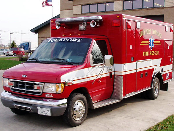 1998 Ford E350  Road Rescue RA#1 98-3356