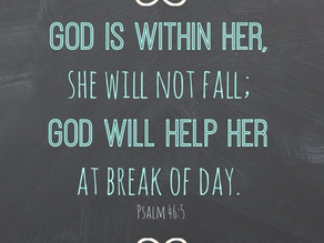 FEAR NOT, for the Lord is with You!